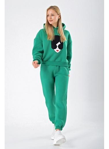 Goja Sport Sweatshirt Yeşil
